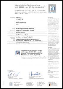 SL20-22 MP Zertifikat DIN EN1279-3