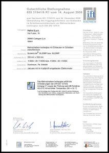 SL20-22MP Zertifikat DIN EN 1279-6