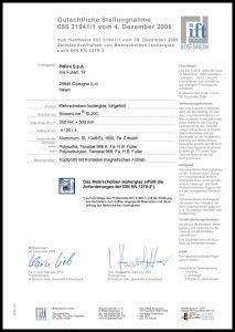 SL20 C - Zertifikat DIN EN 1279-2