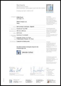SL27 MP - Zertifikat DIN EN 1279-2
