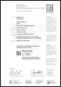 SL27 MP Zertifikat DIN EN 1279-3