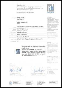 SL27 MP - Zertifikat DIN EN 1279-6
